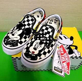 Van x Disney (Mickey mouse sneaker) crossover style