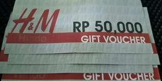 Empat Voucher H&M @50.000