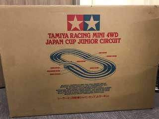 原裝雙星三軌四驅車日本杯版賽道