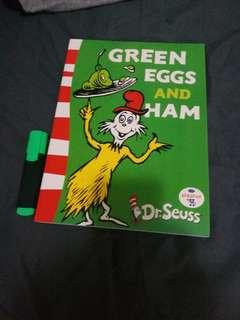 全新 Dr Seuss - Green eggs and ham 點讀版