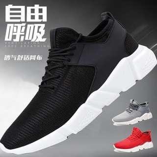 🚚 Black sports shoes (brand new, size 38, 24cm)