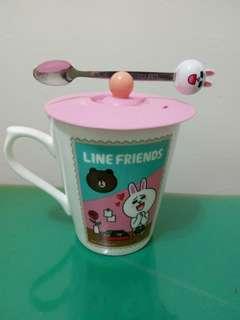🚚 兔兔 馬克杯 含湯匙 新