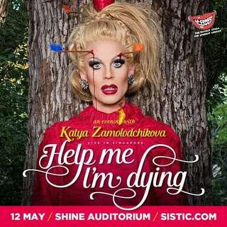 🚚 Katya Zamolodchikova 'Help Me I'm Dying' Show - Selling Cat 2 Ticket!