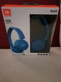 JBL BY HARMAN T450 ON-EAR HEADPHONES