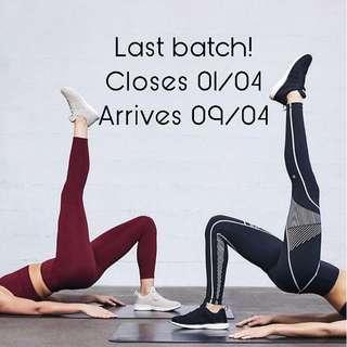 Last batch! Closes 1st April