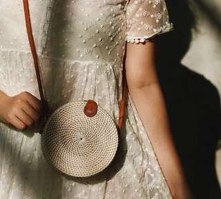 🚚 Brand new Rattan bag for sale