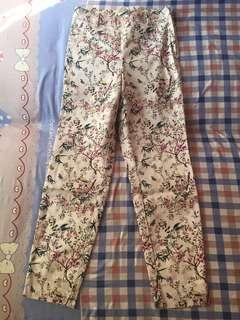 h&m floral pants