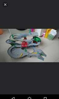 🚚 Sale Takara tomy Electronic Mountain Set cars planes takara