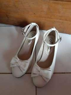 Crazy sale heels white baru sepatu wanita