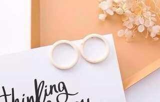🚚 Korean styled earrings