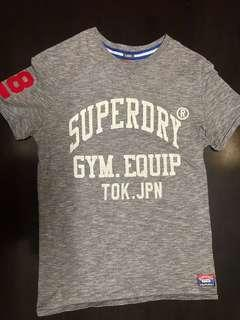 Authentic superdry tshirt