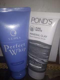 Senka face wash