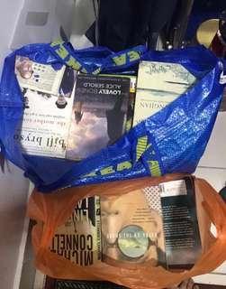 Stoy books n fiksyen bulks abt 50 books