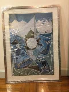Beautiful Art painting with frame