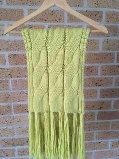 Kookai cable knit scarf