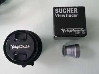 21mm Voigtlander Skopar and 21/25mm EVF