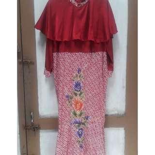 Mermaid Dress Batik