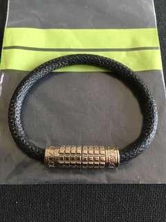 Louis Vuitton Digit Bracelet in Damier Graphite 19cm