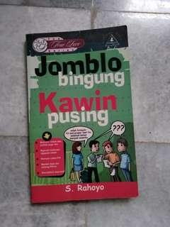 Buku Jomblo Bingung Kawin Pusing