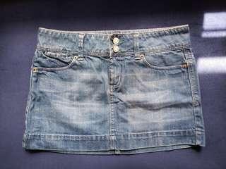 Pre-loved Denim Mini Skirt