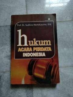 Buku Hukum Acara Perdata