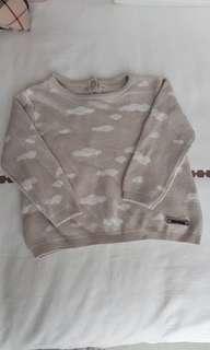 🚚 6 to 12 Months Zara Baby Cloud Sweater