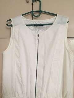 G2000 Woman Jumpsuit Off White Size 40