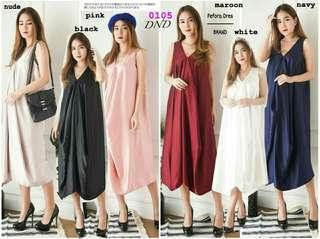 Dress jumbo ferora dress polos dress kondangan dress pesta dress satin