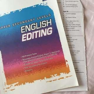 50 olevel eng editing exercises