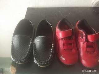 Puma and loafer shoes
