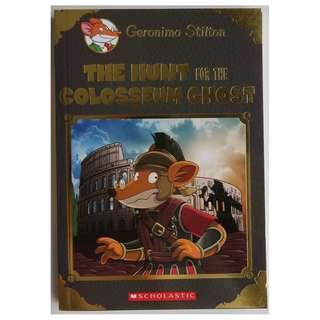 The Hunt for the Colosseum Ghost (Geronimo Stilton Special Edition), paperback