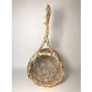 woven basket for decoration