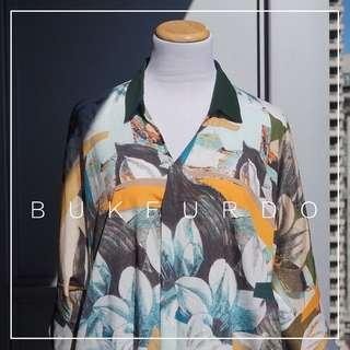 *NWOT* BUKFURDO floral dress (best fit M-L)