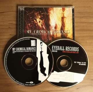 CD My Chemical Romance I Brought You My Bullets 2 CD version