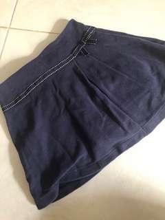 Gymboree Dark blue shorts skirt skort