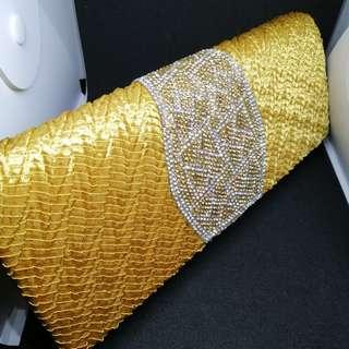 Gold Hand Bag