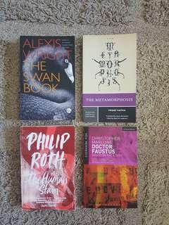 WSU English books