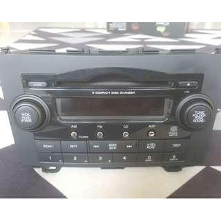 original radio cd player honda crv 2010