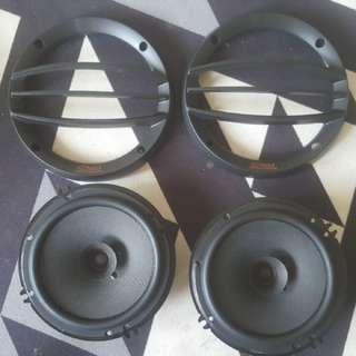Audible dynamic speaker