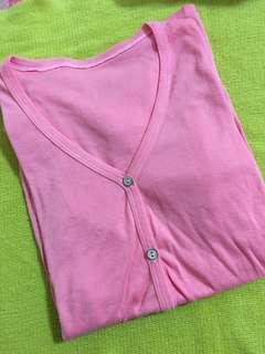 🚚 針織外套粉色