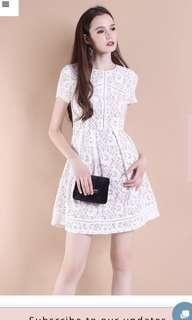 BN neonmello lace dress