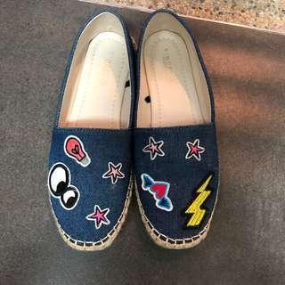 Vincci Denim Shoes