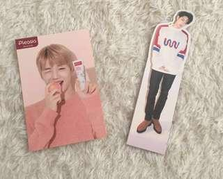 ✨WTS Official Kang Daniel Pleasia Photocard PC & Lai Guanlin / Kuanlin Nothing Without You Album One Version Standee