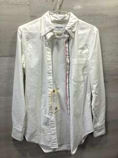Thom Browne Oxford White Shirt 白色牛津恤衫 襯衫 Women Size 40