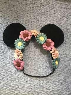 Minnie Flower Head band