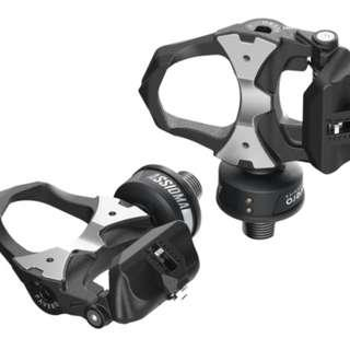 Favero Assioma Duo Power meter pedals.