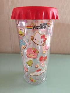 快圖美雙層膠杯fotomax double layer cup
