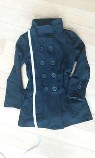 Sixties winter trenchcoat