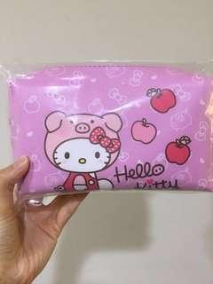 🚚 全新 7-11 Helly kitty豬年化妝包-粉色款 三麗鷗 凱蒂貓