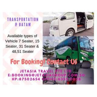 BATAM FERRY & TRANSPORTATION & TOUR PACKAGE